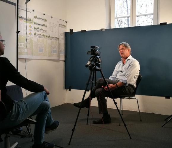 Matthias Burkart von 4a Architekten im Interview